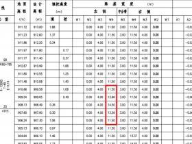 【道路测量_加宽输入】中海达RTK横断面加宽数据输入手薄
